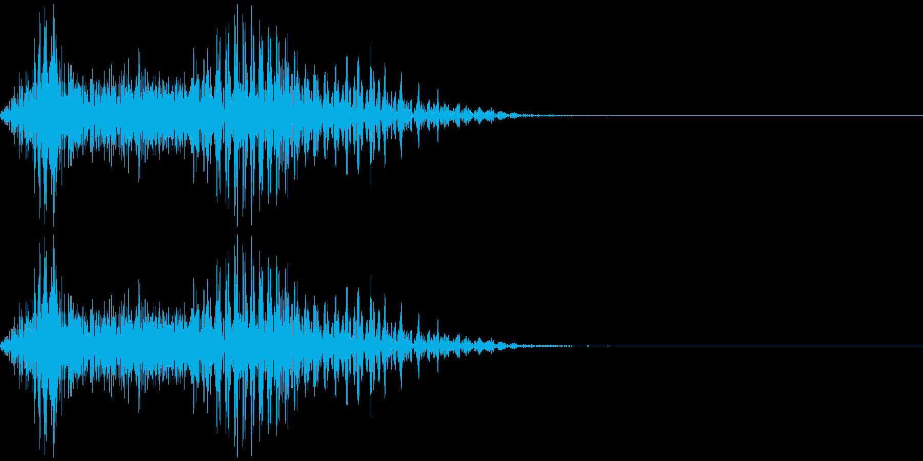 「ツモ」 麻雀ゲームのシステムボイスにの再生済みの波形