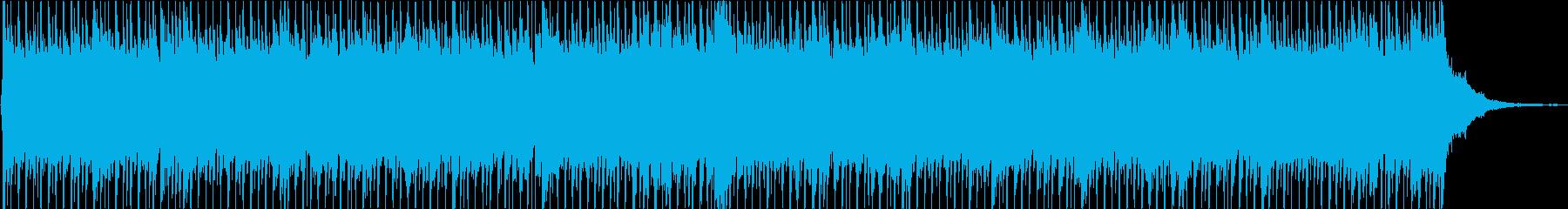 企業VP 爽やかな青空が広がる音楽Eの再生済みの波形