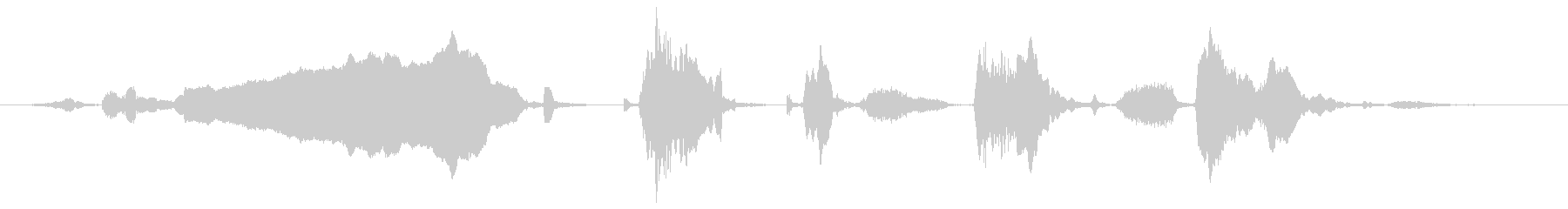 ロバ ブレイロング01の未再生の波形
