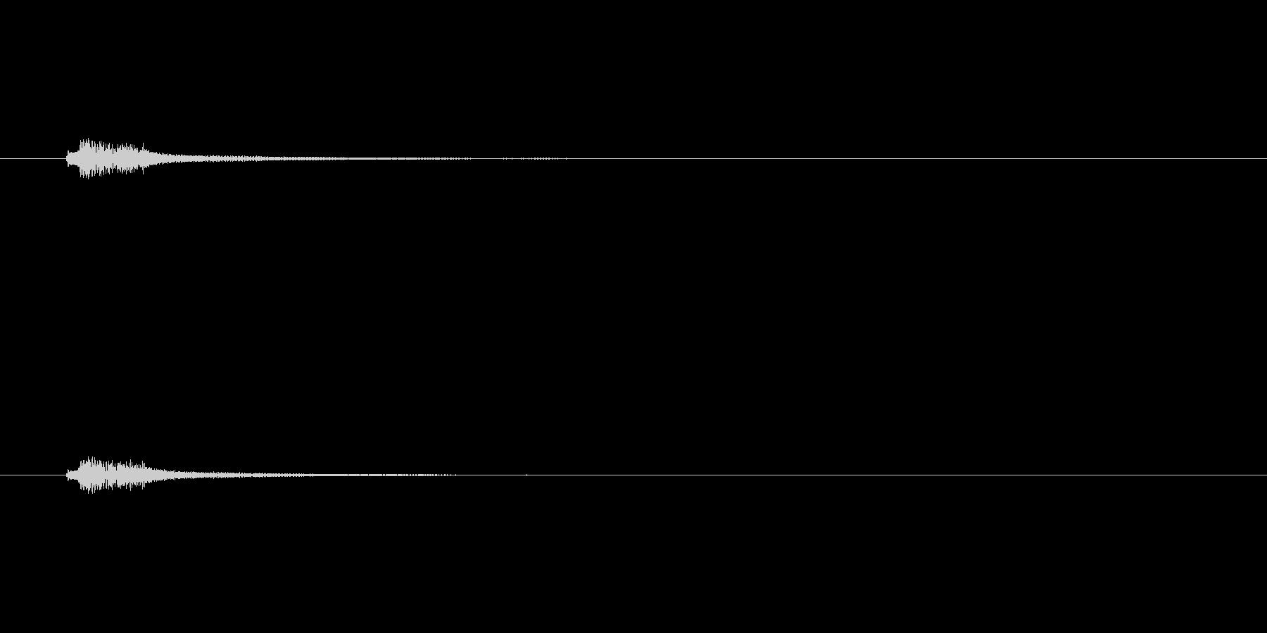 ハープフルディミニッシュコードクラ...の未再生の波形