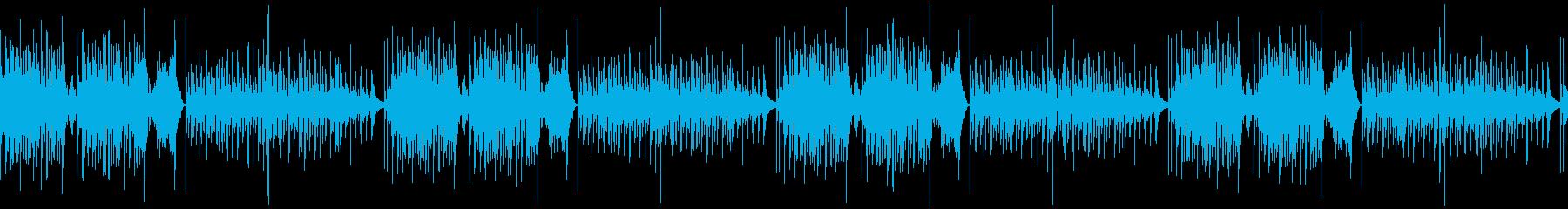 へんてこ・コミカル・かわいい日常系BGMの再生済みの波形