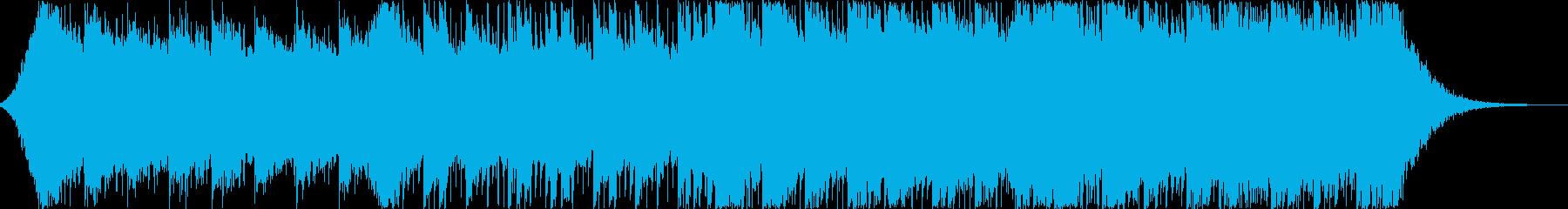 企業VP系92、テクノロジー、シンセ、bの再生済みの波形