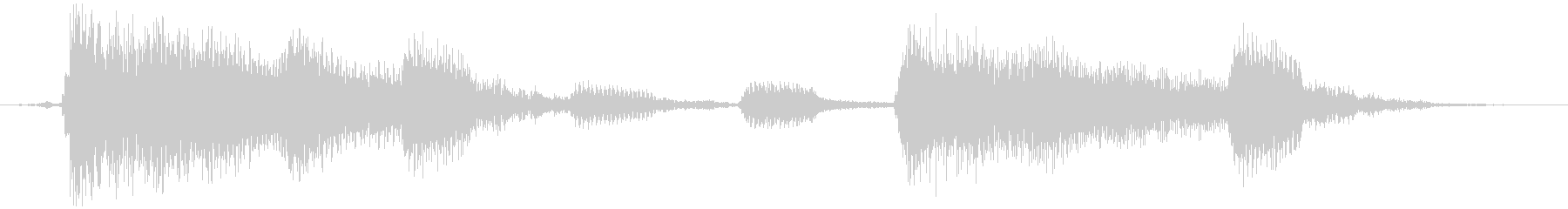 これは5/4拍子記号のラテンバイブ...の未再生の波形