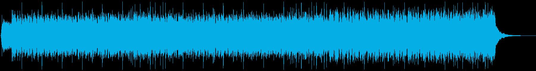 闇属性ゴシック・ダーク・ロック系BGMの再生済みの波形