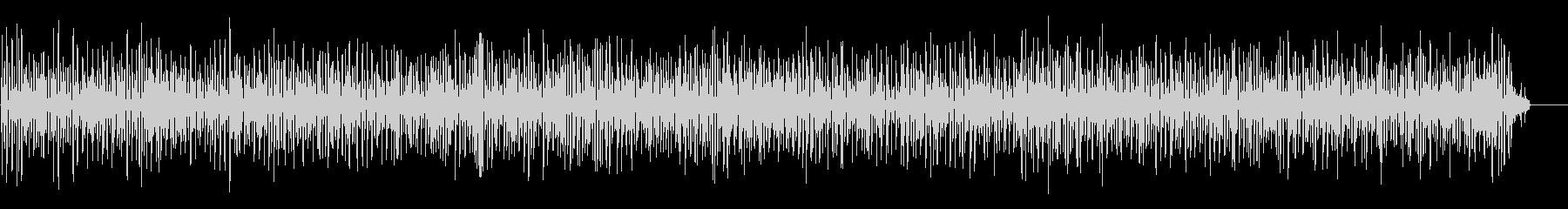 おしゃれで軽やかなアコーディオンジャズの未再生の波形