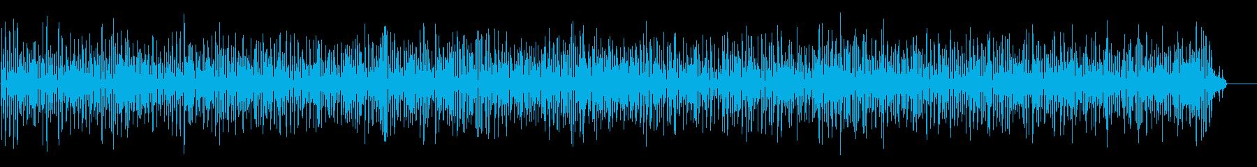 おしゃれで軽やかなアコーディオンジャズの再生済みの波形