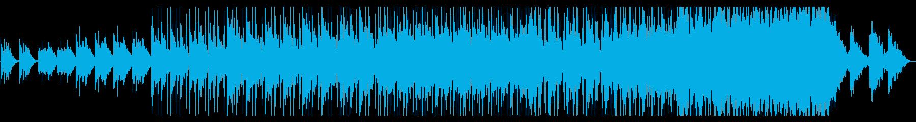寂寥感のあるスローなポップスの再生済みの波形