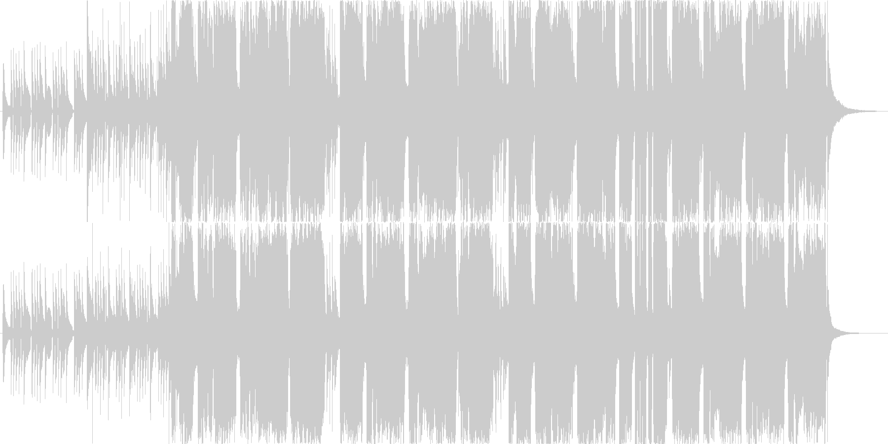 セクシー・エロなトランペットのBGMの未再生の波形