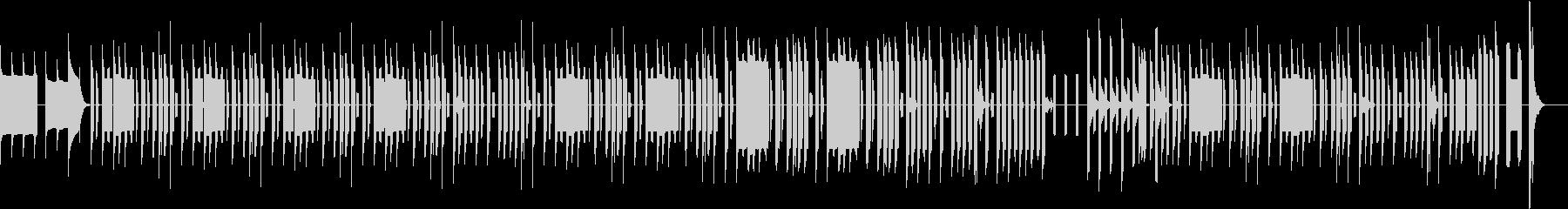 KANT8bit60秒コミカルBGMの未再生の波形