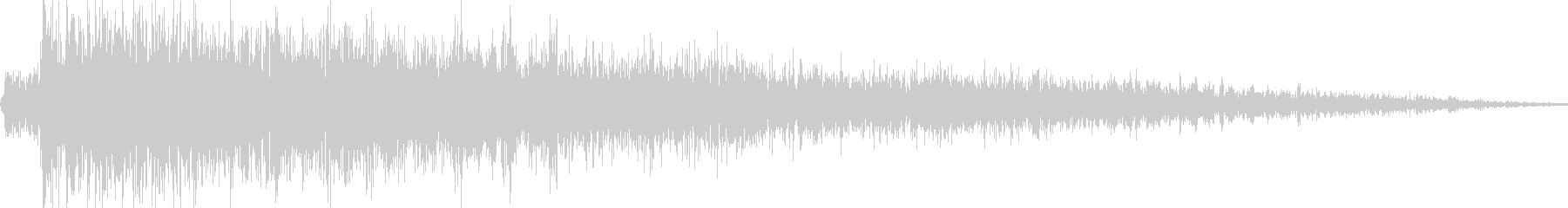 ロボット足音 タイプ9の未再生の波形