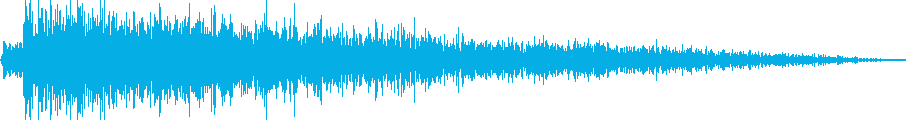 ロボット足音 タイプ9の再生済みの波形