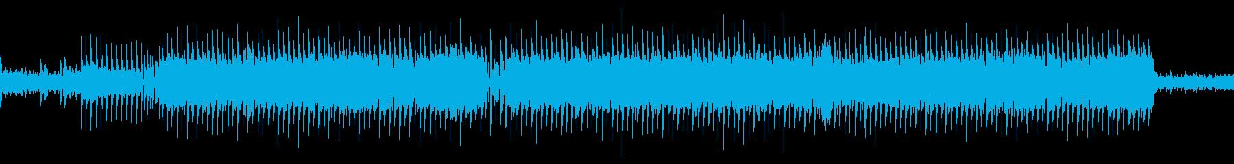 シューティングゲーム風BGMLoop仕様の再生済みの波形