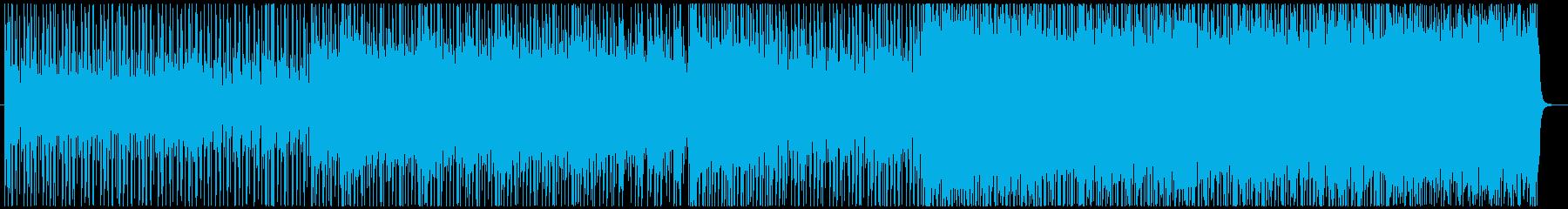 和風で壮大なロックの再生済みの波形