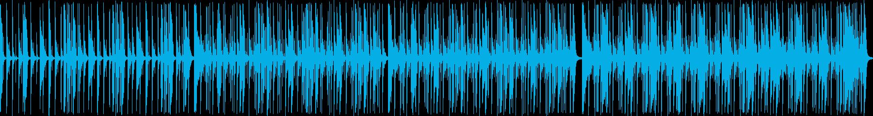 響きが力強くておしゃれなメロディーの再生済みの波形