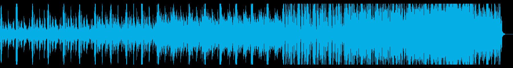 デジタルなシネマティックアンビエントの再生済みの波形