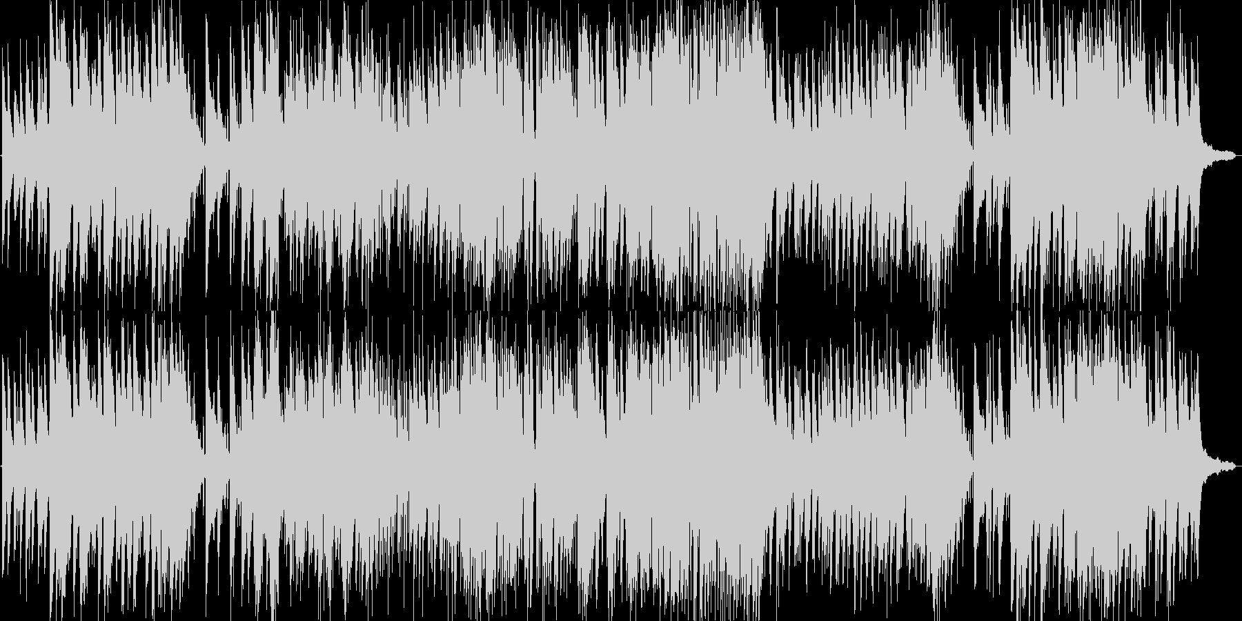 哀愁漂うピアノジャズ(オリジナル曲)の未再生の波形