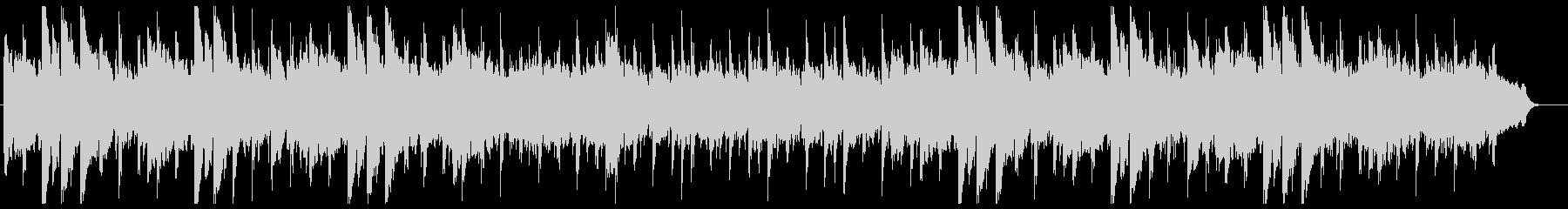 ウクレレとスティールギターのハワイアンの未再生の波形