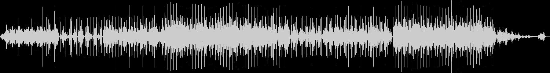 好きなコード進行を多様したポップスの未再生の波形