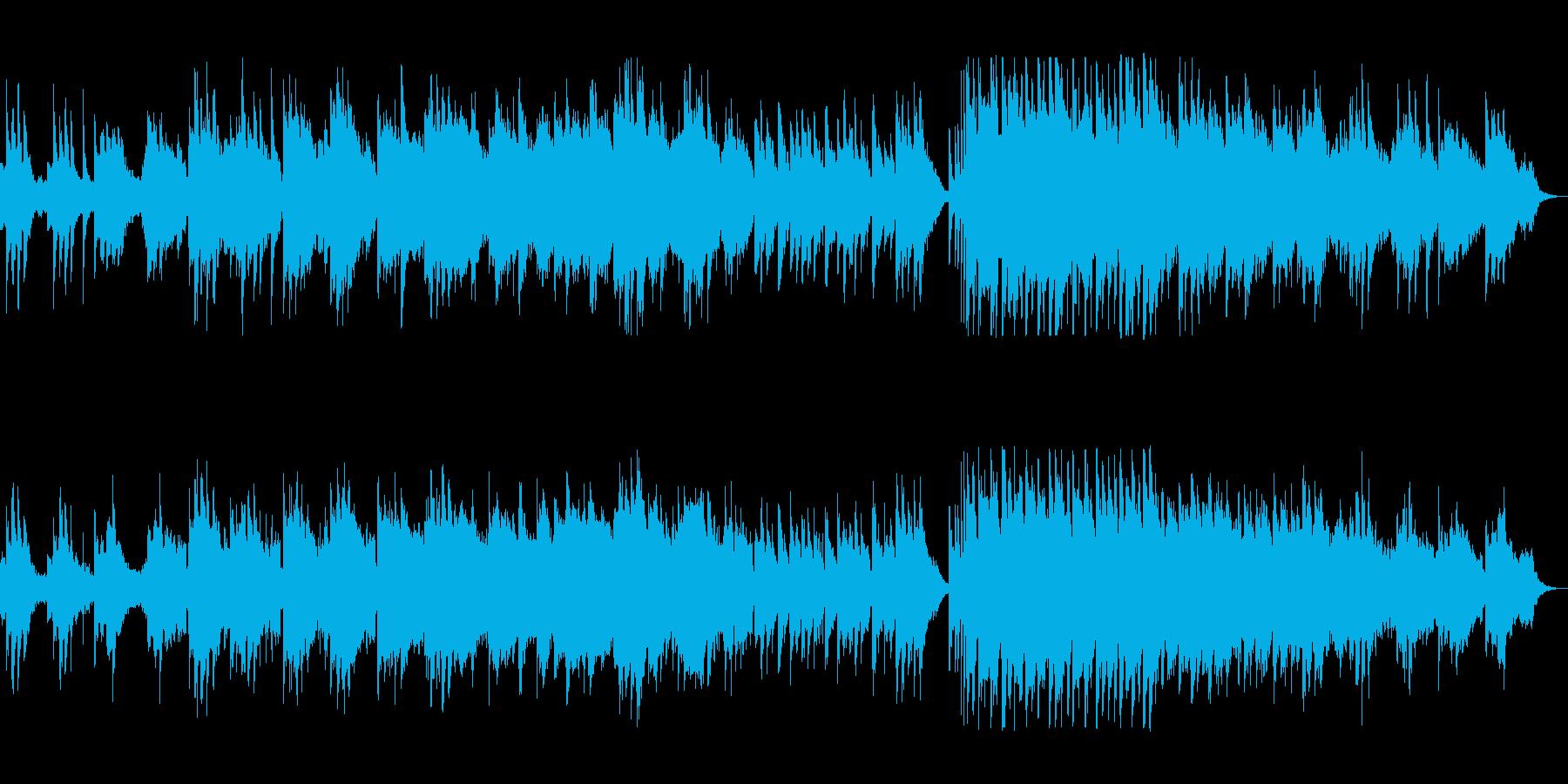 シンセのみずみずしさが生きるポップスの再生済みの波形