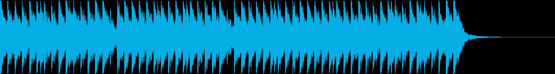 忍者!江戸!三味線!15秒!の再生済みの波形