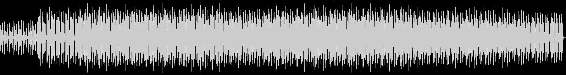 ピアノと笛がベースのエレクトロの未再生の波形