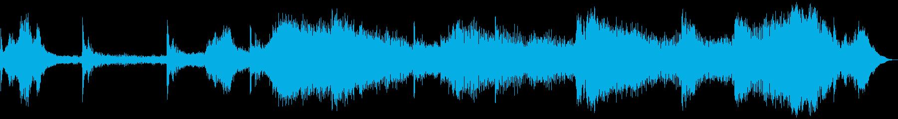 【ホラーゲーム】 敵の気配 シーンの再生済みの波形