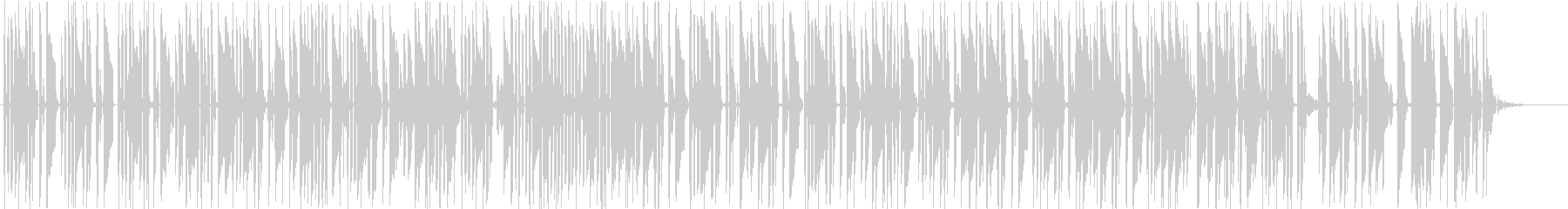 幻想的なローファイ・チルの未再生の波形
