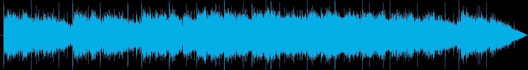サックスが静かにメロディーを奏でます。の再生済みの波形