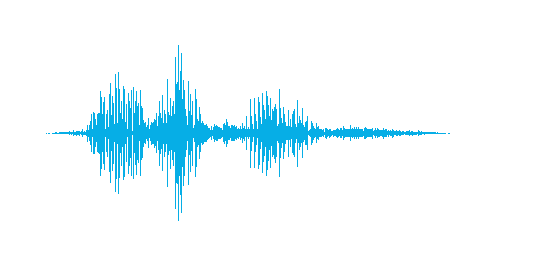 フルハウスの再生済みの波形