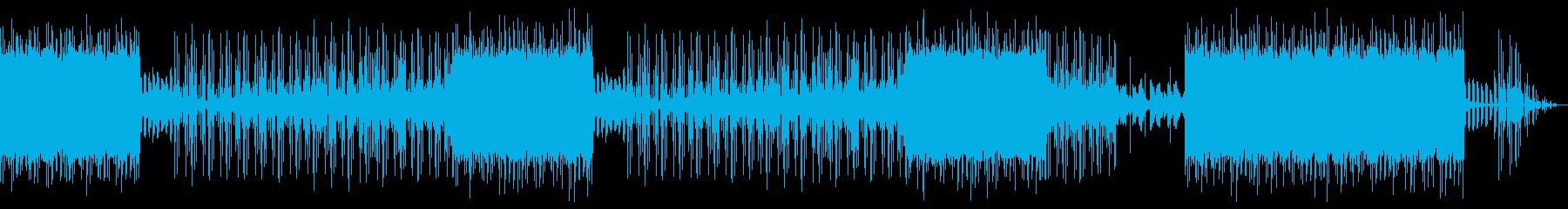 哀愁感漂うローファイヒップホップの再生済みの波形
