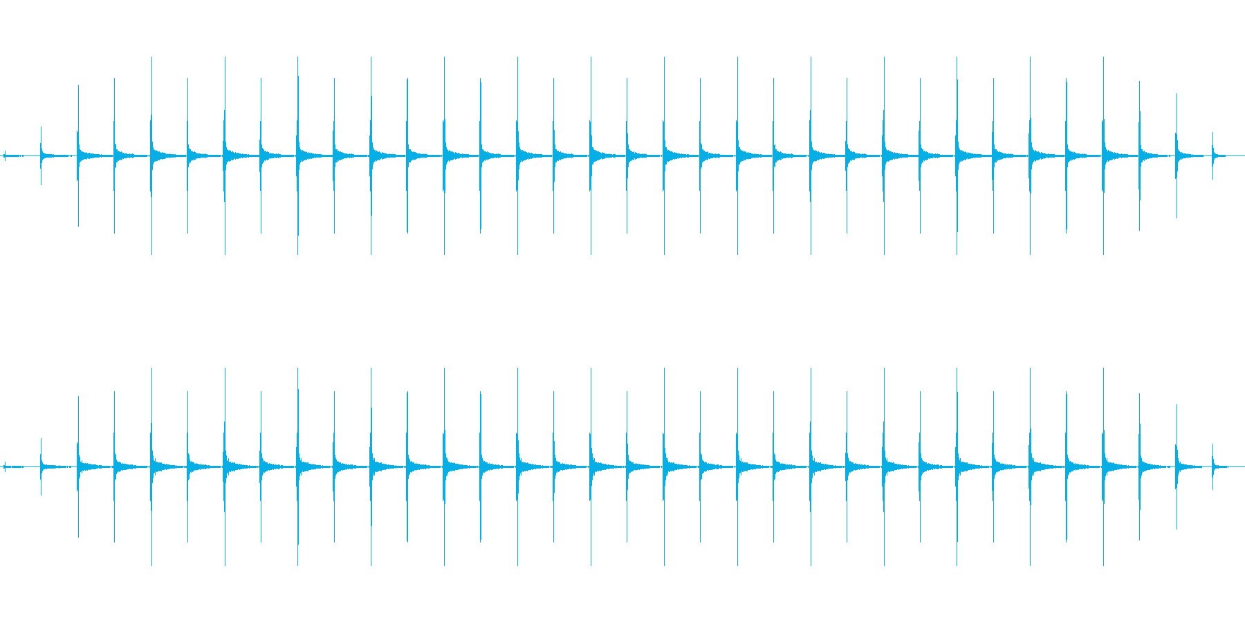時計 ticktock_41-2_revの再生済みの波形