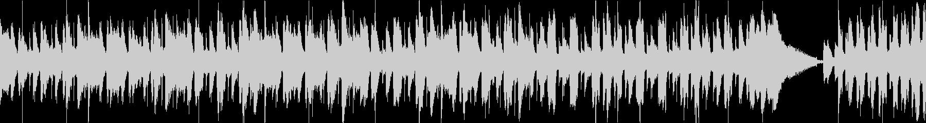 コミカル かわいい ループの未再生の波形