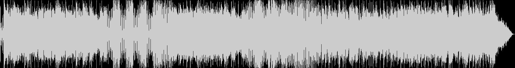 SUITE 3連と4連のリズムがチェーンの未再生の波形