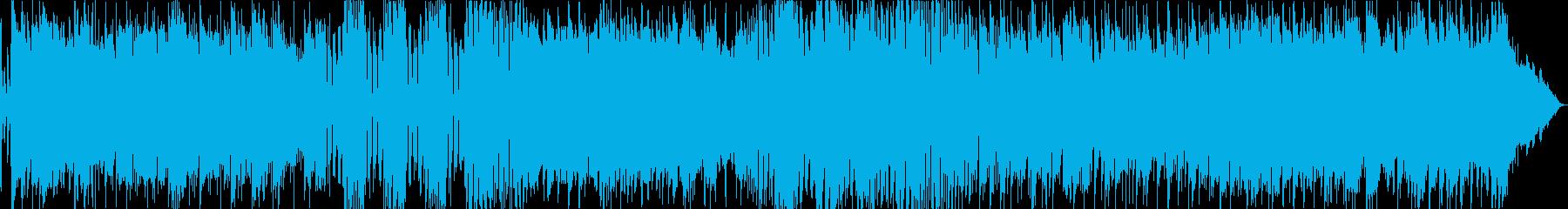 SUITE 3連と4連のリズムがチェーンの再生済みの波形