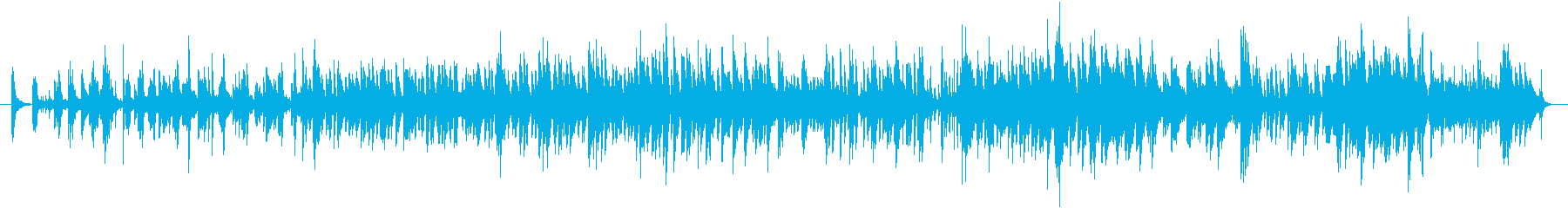 ジャズワルツの讃美歌の再生済みの波形