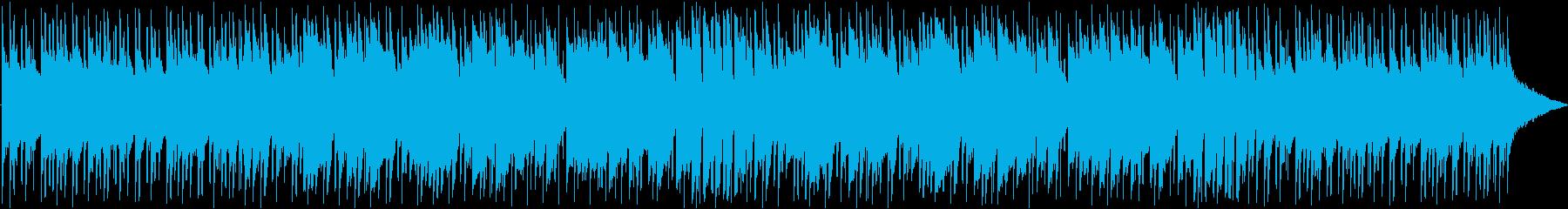 爽やかな朝を彩る日常のBGMの再生済みの波形