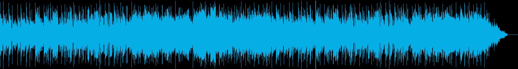 フルートがメインの曲の再生済みの波形
