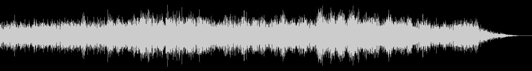ホラー映画に出てきそうなノイズ系音源16の未再生の波形