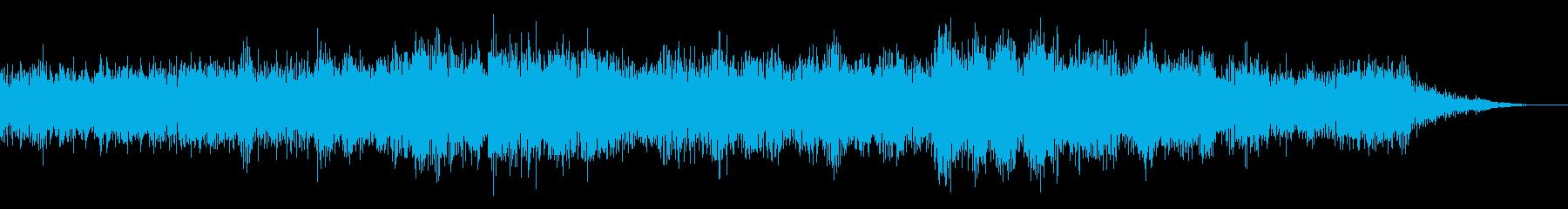 ホラー映画に出てきそうなノイズ系音源16の再生済みの波形