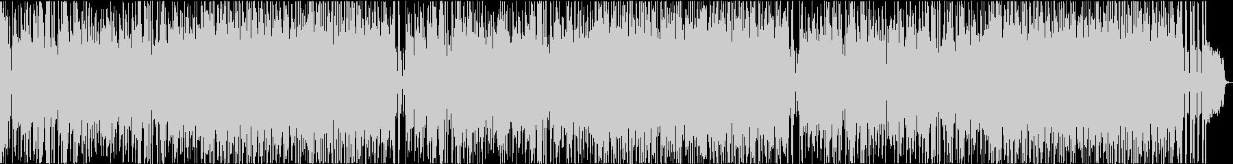 軽いノリのポップスBGMの未再生の波形