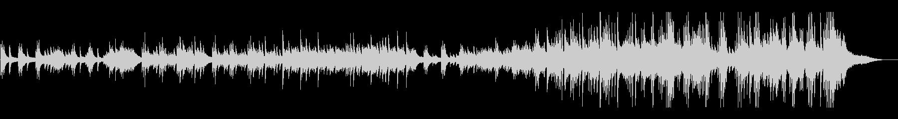 結婚式 感動的なピアノソロの未再生の波形