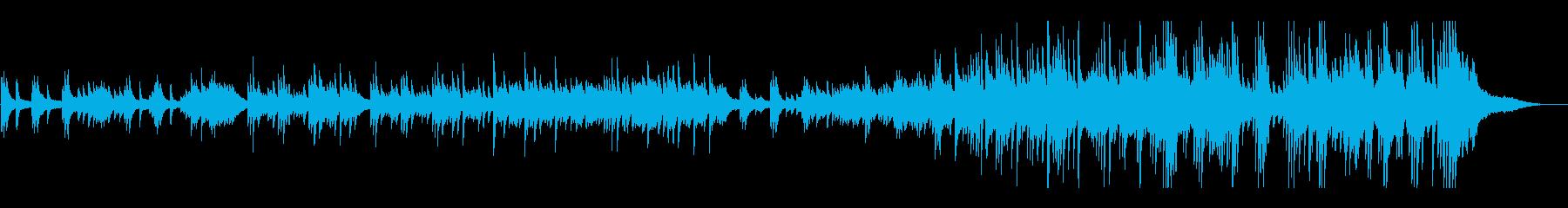 結婚式 感動的なピアノソロの再生済みの波形
