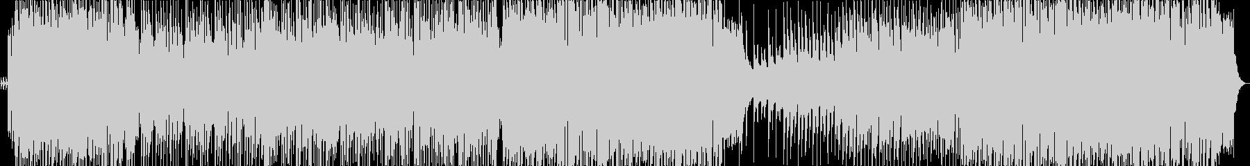 三拍子、軽快なケルト風の曲の未再生の波形
