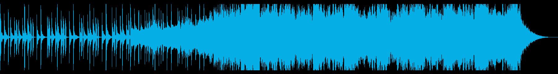 スタイリッシュなエレクトロニックの再生済みの波形