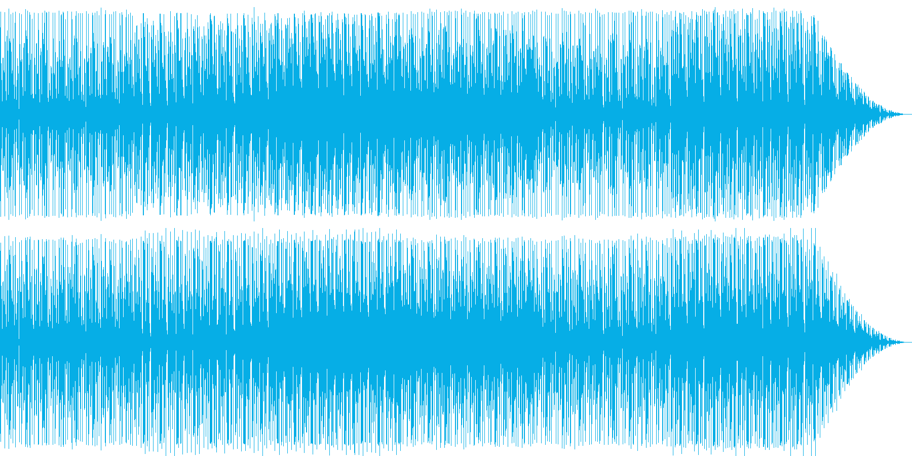能天気な曲。の再生済みの波形