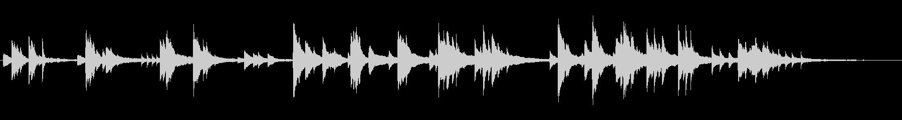 爽やかで優しく少し切ない ピアノソロ 2の未再生の波形