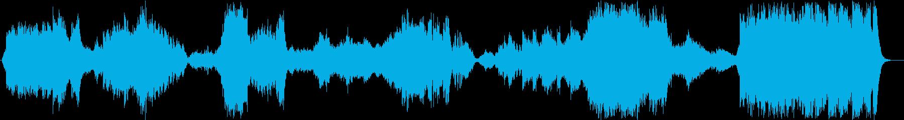 ファンタジー風オーケストラ 魔法の国の再生済みの波形