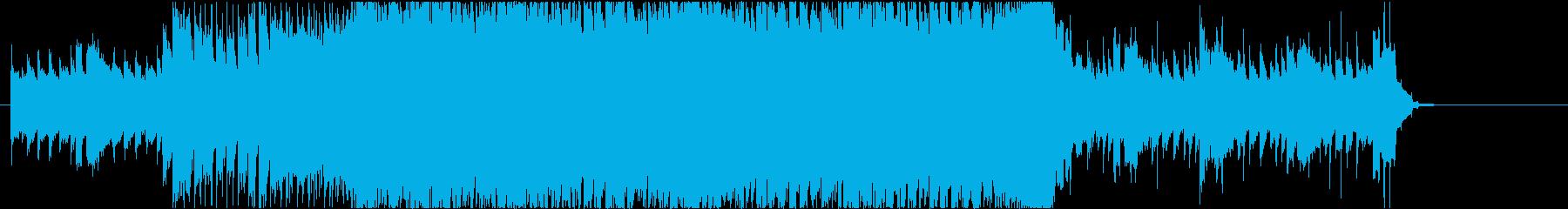 疾走感 爽やかなインスト曲の再生済みの波形