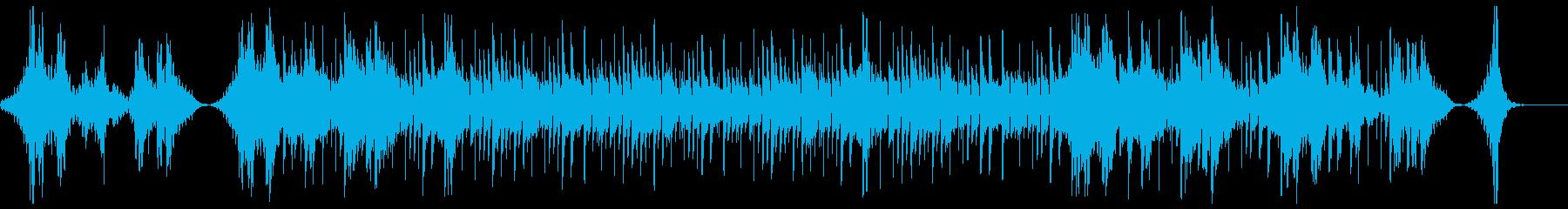 動画向けクールハイセンスBGMの再生済みの波形