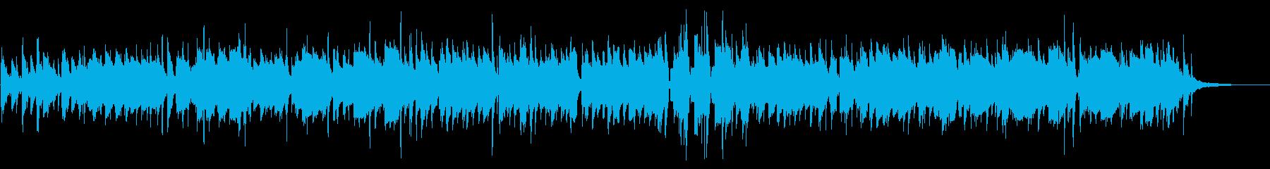ウキウキ軽快なクラリネットのスイングの再生済みの波形